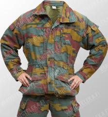 Belgian M90 field jacket, Jigsaw-camo, surplus