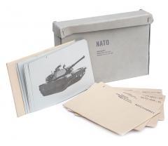 Swiss tank identification card set, surplus