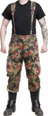 Swiss M70 field trousers, Alpenflage, surplus