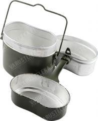 BW mess tin, green, used