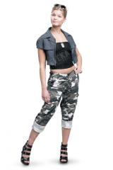 Women's BDU trousers, ripstop