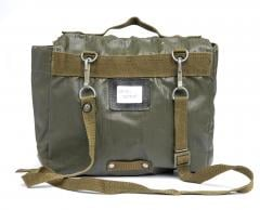 Czech M85 Shoulder Bag, surplus. Name tag pocket and stabilizer attachment in the back.