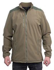 Belgian Windstopper Fleece Jacket, Green, Surplus