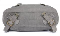 Danish Pattern 37 Large Pack, grey, with shoulder straps, surplus.