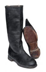 Soviet marine leather boots #2