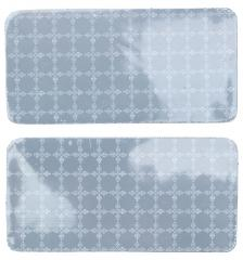 Police Prismatic reflector patch, 50 x 100 mm, 2 pcs