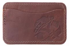 Jämä Card Wallet, Leather. Brown
