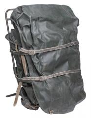 Finnish external frame rucksack, green, surplus