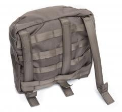 Swedish SVS 12 Combat Vest With Pouches, Green, surplus. All pouches attach with a Snigel Design variant of the PALS system. Compatible with MOLLE platforms.