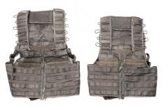 Swedish SVS 12 Combat Vest With Pouches, Green, surplus. Two sizes: one that fits most and another for smaller bodies.