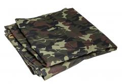 Romanian Plash-palatka Rain Cape/Shelter Half, Camouflage, Surplus