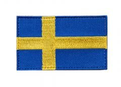 Särmä TST Swedish Flag Patch, 77 x 47 mm