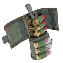 Paraclete Shotgun 19-Round Ammo Pouch, Smoke Green, Surplus