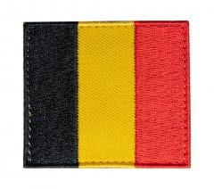 Särmä TST Belgian Flag Patch, 54 x 47 mm