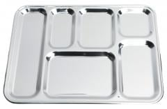 French Stainless Steel Tray, Surplus