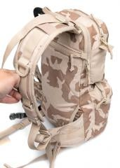 Czech Daypack with Hydration Bladder, Desert Vz95, Surplus. You can attach stuff also on the adjustable shoulder straps.