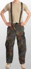 BW Gore-Tex trousers, Flecktarn, surplus