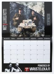 Finnish Heavy Metal Boy Calendar.