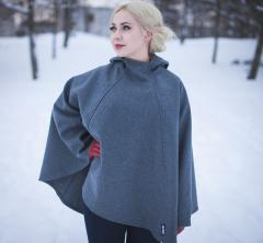 Jämä Luhka. Pictured the older model we used to make from gray Finnish army wool.