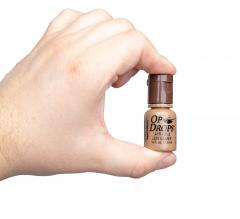 McNett Op Drops anti-fog and lens cleaning system. The bottle size 7,5 ml (0.25 fl oz or 106 drops)