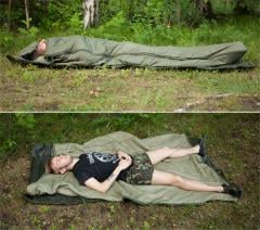 British jungle sleeping bag, surplus.