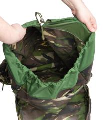 Romanian Combat Rucksack with Daypack, DPM, Surplus, Unissued. The large backpack has one large main compartment that cannot be divided.