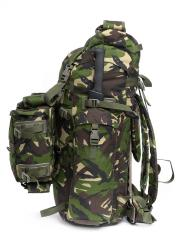 Romanian Combat Rucksack with Daypack, DPM, Surplus, Unissued. This package deal has a large backpack and compact daypack that can be attached to the backpack.