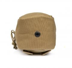 London Bridge Trading Small Utility Pouch, Surplus. Grommet on the bottom to drain water.