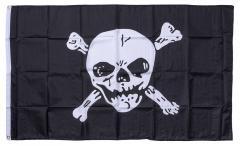 Jolly Roger flag, 150 x 90 cm