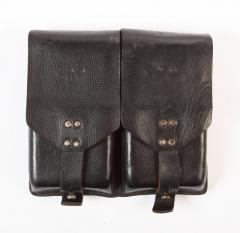 Austrian Stg. 58 magazine pouch, leather, surplus
