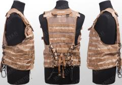 British Osprey load bearing vest package, Desert DPM, surplus.
