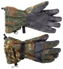 BW winter combat gloves, Flecktarn, surplus