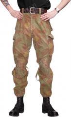 Italian combat trousers, Telo mimetico, surplus