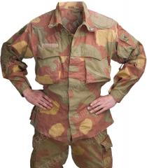 Italian combat jacket, Telo mimetico, surplus