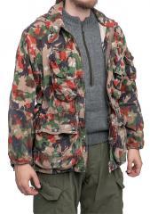 536345940287c Swiss super field jacket M70, Alpenflage, surplus