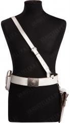 BW military police Sam Browne belt, white, surplus