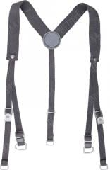 NVA Y-suspenders, gray, surplus