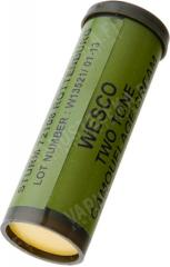 British camo face paint stick, green/black