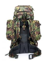 "Dutch ""Lowe Alpine Saracen rucksack"", DPM, surplus. Adjustable shoulder strap position means the ruck can be tailored to fit about anyone."