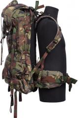 "Dutch ""Lowe Alpine Saracen rucksack"", DPM, surplus. The ruck can be completely flattened too."