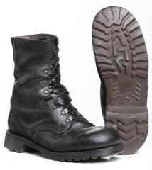 BW combat boots, old model, surplus