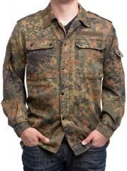 BW field shirt, Flecktarn, surplus