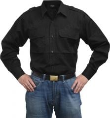 Mil-Tec service shirt, black