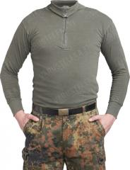 BW turtle neck shirt, olive drab, surplus