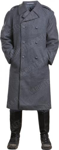 Finnish M/65 greatcoat, gray, surplus