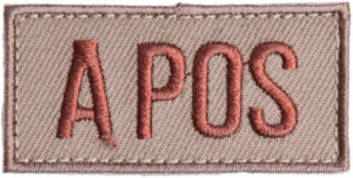 Särmä TST blood type patch