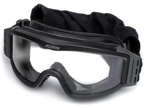 ESS Profile NVG ballistic goggles, black, with spare lens