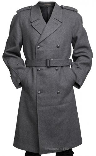 Finnish greatcoat, gray, officer's model, surplus