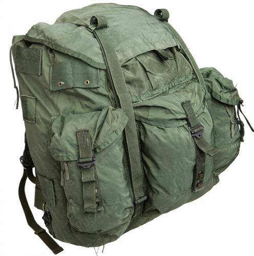 US ALICE Large Pack, with frame, olive drab, surplus
