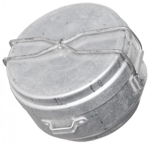 Czechoslovakian mess tin, aluminum, surplus